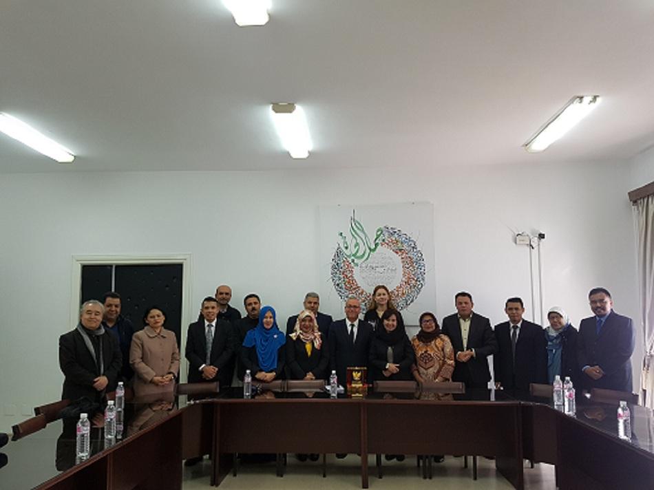 Jajaki Kerja Sama Diklat Penerjemahan Bahasa Arab, Delegasi Sekretariat Kabinet Kunjungi Tunisia